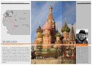 RUSSLAND - Reisen und Kultur
