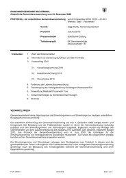 Protokoll der Gemeindeversammlung vom 3 ... - Recherswil