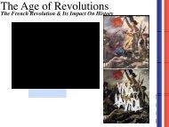 The French Revolution - Saratoga High School