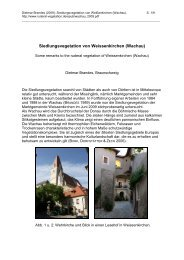 Siedlungsvegetation von Weissenkirchen (Wachau)