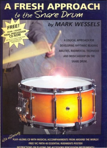 Mark Wessels-A Fresh Approach to the Snare