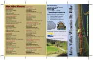 Edna Valley Wineries by Bike Map - San Luis Obispo