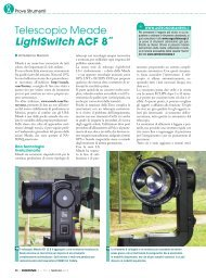 Telescopio Meade LightSwitch ACF 8˝ - Skypoint Srl