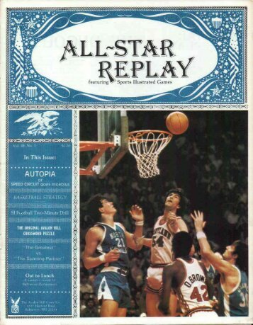 All-Star Replay Vol 3 No 1 (3.46