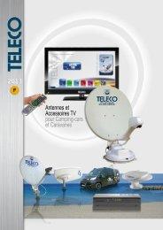 Catalogue Teleco Camping-cars