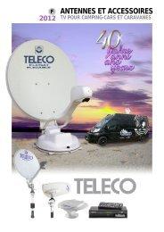 tv pour camping-cars et caravanes - Teleco