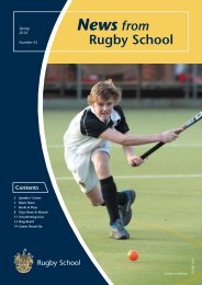 News from - Rugby School