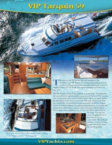 Download Tarquin 59 Brochure - VIP Yachts