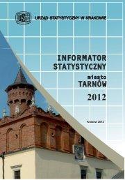 Informator statystyczny miasto Tarnów 2012 - Główny Urząd ...