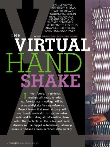 PM Network Magazine's lead article on virtual ... - Ross Dawson