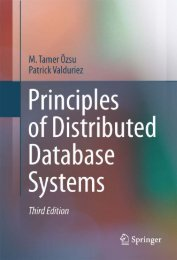 Principles of Distributed Database Systems, Third Edition