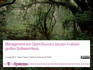 Helene Tamer - Management von Open-Source ... - LinuxTag