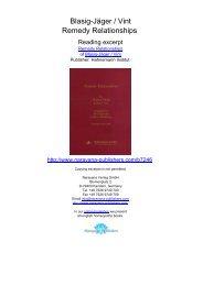 Remedy Relationships - Homeopathy books, Narayana Publishers ...