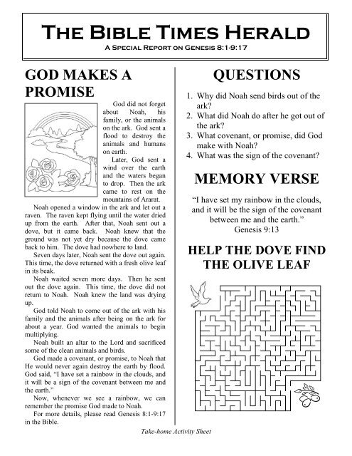 The Bible Times Herald A