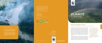 Climate change in Peru - WWF