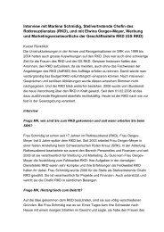 Interview - Schweizerisches Rotes Kreuz