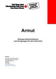 Armut Hintergrundinformationen und ... - Schweizerisches Rotes Kreuz
