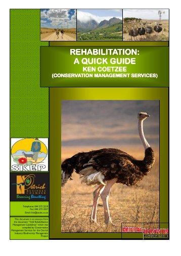 REHABILITATION: REHABILITATION: A QUICK GUIDE A ... - saobc