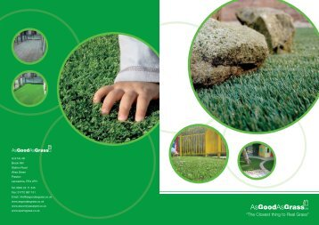 Products and Services Brochure - Sport Venue Construction