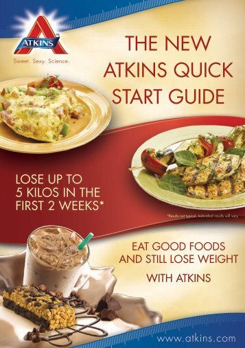 The New ATkiNs Quick sTArT Guide