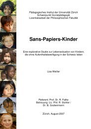 Sans-Papiers-Kinder Interview-Manual - Schweizerisches Rotes Kreuz