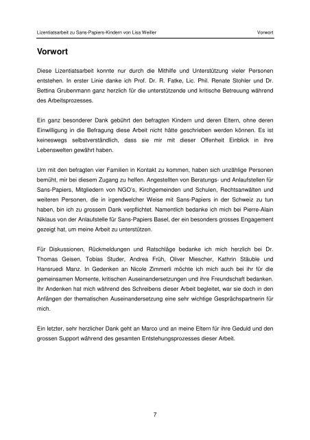 Sans-Papiers-Kinder Interview-Manual - Schweizerisches Rotes Kreuz