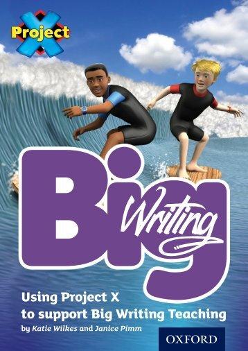 Big Writing - Oxford University Press
