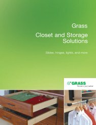 Grass brochure1 - Grass America, Inc.