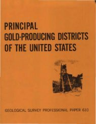 Gold-Producing Districts Of The United States - GoldManHank