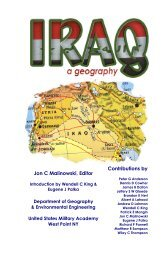 Iraq: A Geography - West Point