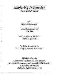 Exploring Indonesia.pdf - ScholarSpace - University of Hawaii
