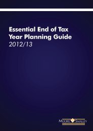 Essential End of Tax Year Planning Guide 2012/13