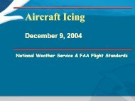 Aircraft Icing - National Weather Service Southern Region ...