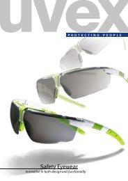 Safety Eyewear Catalogue (PDF) - UVEX SAFETY