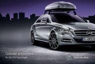 Genuine accessories - Mercedes-Benz Danmark