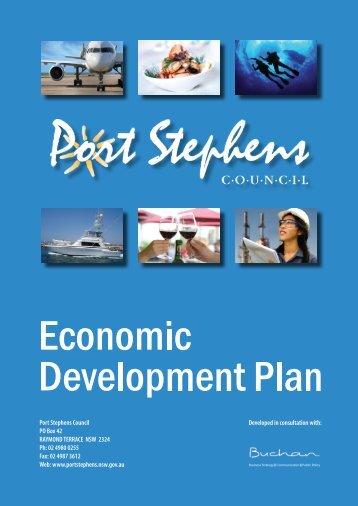 Economic Development Strategy - Business Port Stephens