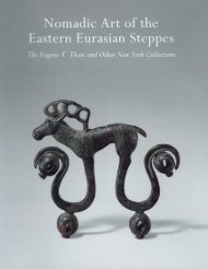Nomadic Art of the Eastern Eurasian Steppes - Metropolitan ...