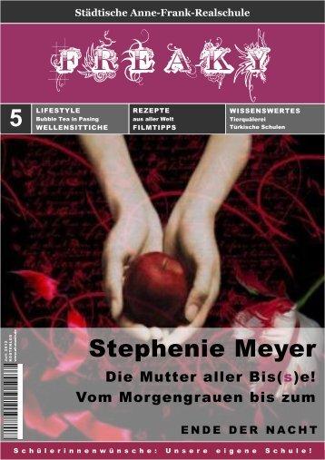 Stephenie Meyer - Anne-Frank-Realschule
