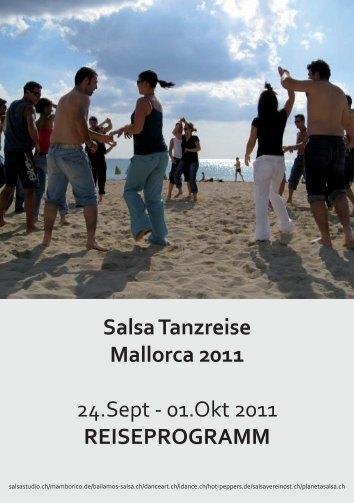 Salsa Tanzreise Mallorca 2011 24.Sept - 01.Okt 2011 ...