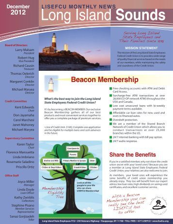 LISEFCU Newsletter December 2012 - Long Island State ...