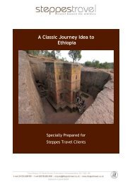 A Classic Journey Idea to Ethiopia - Steppes Travel