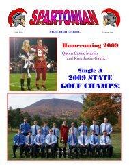 October - Giles High School