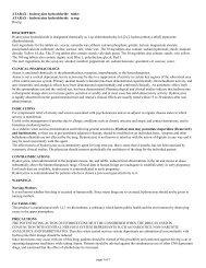 hydroxyzine hydrochloride tablets, usp - Harris Pharmaceutical