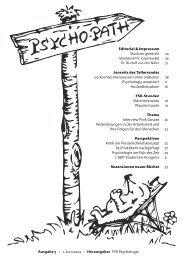 Editorial & Impressum Studium generale Steckbrief Fr. Grunewald ...