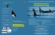 5th Annual Pacific Psychopharmacology ... - drshimikang.com