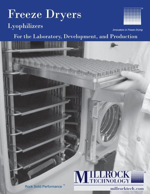 Freeze Dryers - Millrock Technology