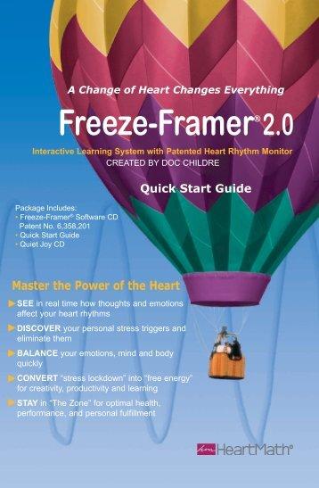 Freeze-Framer 2.0 Quick Start guide - Macquarie Institute
