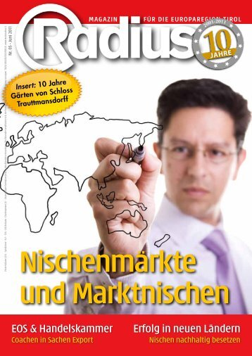 Radius Nischenmärkte 2011