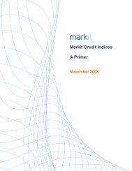 Markit Credit Indices A Primer - Markit.com