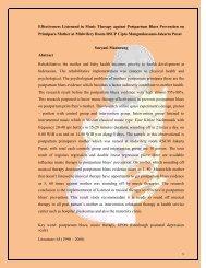 abstrak POSTER 2011efektifitas terapi musik pencegahan ...